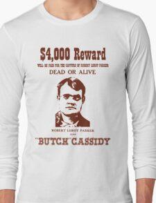 Butch Cassidy Long Sleeve T-Shirt