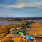 The Beach Huts by Mark Waugh