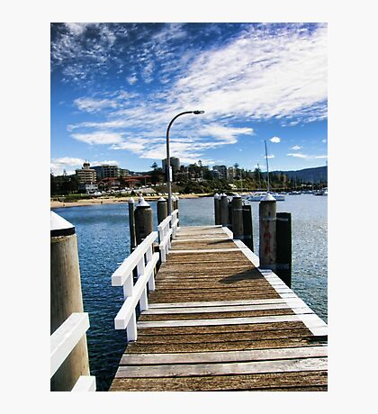 Wollongong - Jetty View Photographic Print