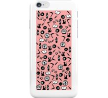 Book Club Wallpaper Art Print iPhone Case/Skin