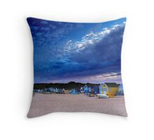 End of Summer Sky Throw Pillow