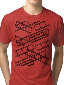 Film strip multiple Tri-blend T-Shirt