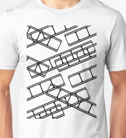 Film strip multiple Unisex T-Shirt