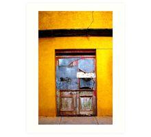 Door to Nowhere Art Print