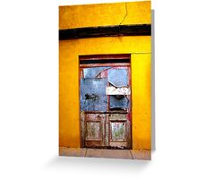Door to Nowhere Greeting Card