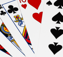 Poker Hands - One Pair - Kings Sticker