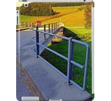 Bridge in the countryside   architectural photography iPad Case/Skin