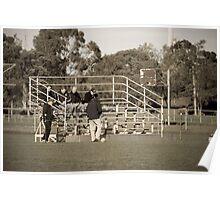 Flinders Peak Reserve Bleachers Poster
