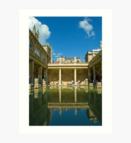 Roman Baths, Bath, England Art Print