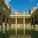 Roman Baths, Bath, England by SusanAdey