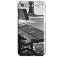 Lonley seat iPhone Case/Skin