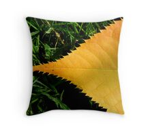 September Autumn Throw Pillow