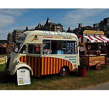 Carters Fair - Ice Cream Van Photographic Print