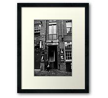 Lennon's Bar Framed Print