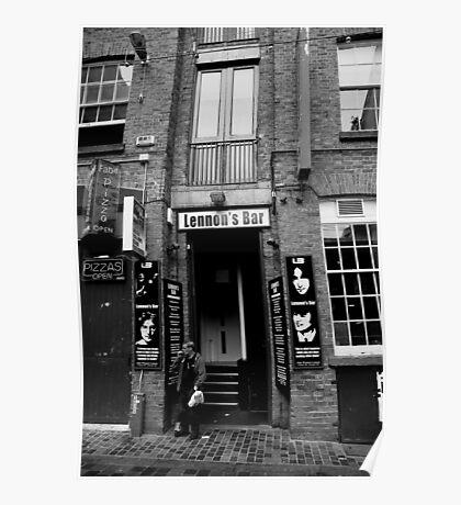 Lennon's Bar Poster