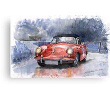 Porsche 356 B Roadster Canvas Print