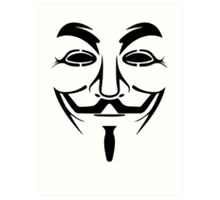 Anonymous - We Are Legion Art Print