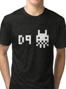 District 9 8 bit Tri-blend T-Shirt