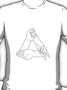 Paper Scissors Stone Black T-Shirt
