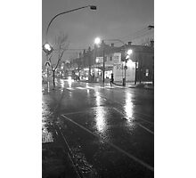 Caught in a Down Pour Photographic Print