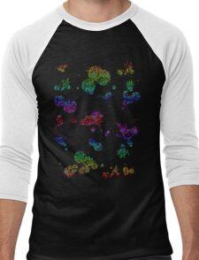 Splatter Men's Baseball ¾ T-Shirt