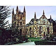 Port Arthur Church...HDR Photographic Print