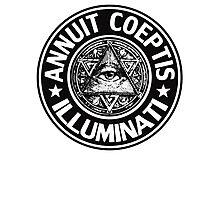 Anti Illuminati - Annuit Coeptis Photographic Print