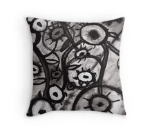 Dark illusion Throw Pillow