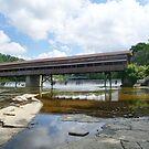 Harpersfield Covered Bridge, Ashtabula County, Ohio by Sheri Nye