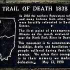 Potawatomi Trail of Death by Tracy DeVore