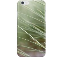 Beach grass abstract 3 iPhone Case/Skin