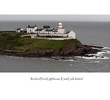 Roche's Point Lighthouse, Ireland Photographic Print