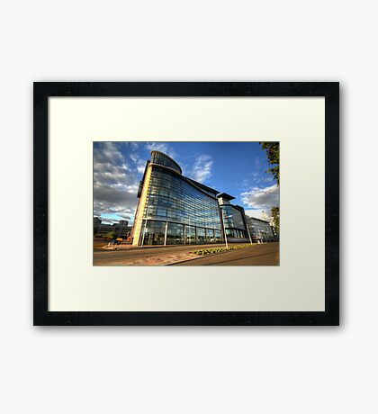 Broomielaw Architecture Framed Print