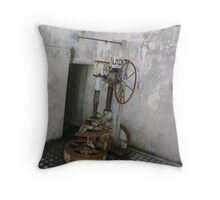 now resting Throw Pillow