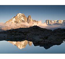 Massif du Mont Blanc Photographic Print