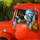 Billy Baaab and His Truck by Conni Togel