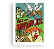 Attack of the Bedrills Canvas Print