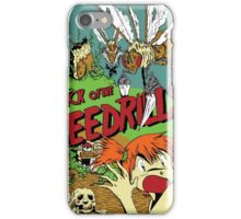 Attack of the Bedrills iPhone Case/Skin