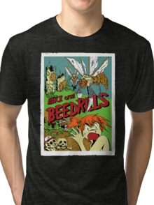 Attack of the Bedrills Tri-blend T-Shirt