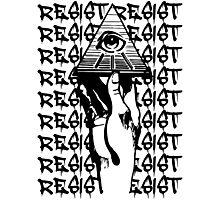 Resist The Illuminati Photographic Print
