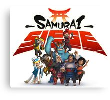 samurai siege alliance wars Canvas Print
