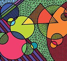 geometric fun land by lilCharlie