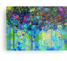 Sudden Rain And My Blues abstract Metal Print