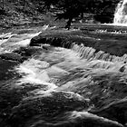 Buttermilk Falls  by KendraJKantor