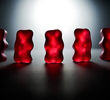 Gummy Bear Photography - Room For Our Thoughts by michalfanta