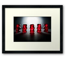 Gummy Bear Photography - Room For Our Thoughts Framed Print