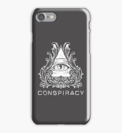 Conspiracy - All Seeing Eye iPhone Case/Skin