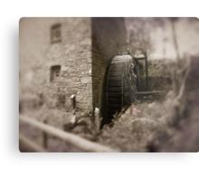 Old mill Wheel Metal Print