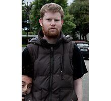 Headshot Film Director Conor McMahon Photographic Print