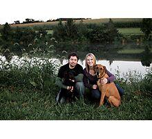 Family Portrait (minus one) Photographic Print